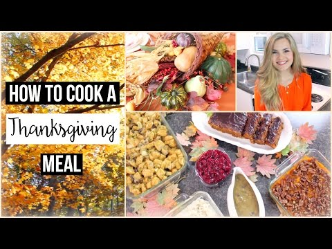 Cook a 6 Dish Vegan Thanksgiving Dinner (+ Lunch Recipe & DIY Table Decorations)