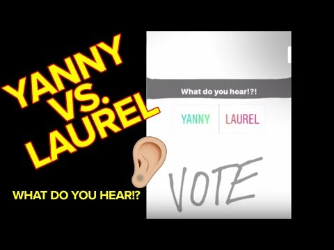 Laurel vs. Yanny: Why Do We Hear or See Things Differently?