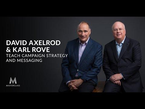David Axelrod and Karl Rove MasterClass