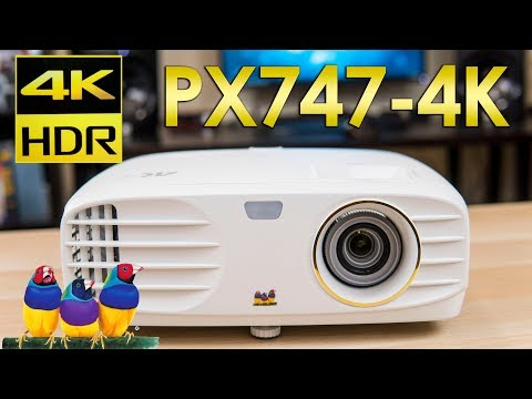Viewsonic PX747-4K Review - The Lowest Priced 4K Projector?