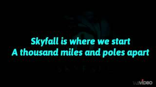 Adele   Skyfall (Lyrics Full)