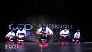 Millennials Family | André Maya | FRONTROW | World Of Dance Mexico City 2016