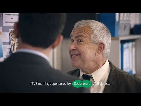 Follow our hapless, hard-of-hearing detective as he mumbles his way through his day-job mishearing at crucial points. Previously broadcast on ITV, this is a compilation for fans of our 'Should've' ads. https://www.specsavers.co.uk/hearing?utm_source=youtube&utm_medium=referral&utm_campaign=detective_idents&utm_content=vid_2