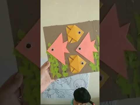 Fish Origami & Collage activities (Aquarium)