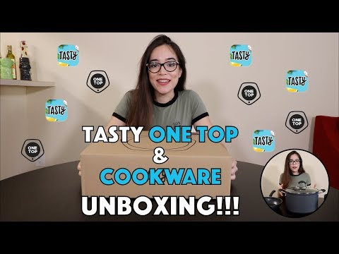 Tasty One Top Unboxing + Cookware
