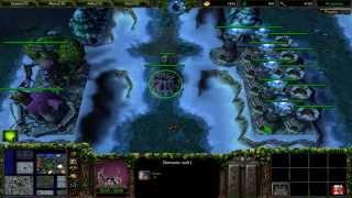 Warcraft 3 TFT - Troll vs Elves #1