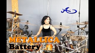 [New] METALLICA - Battery drum cover by  Ami Kim (#63)