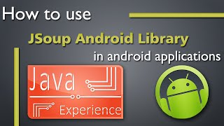 How to use Jsoup library in android apps