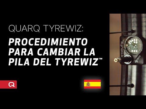 QUARQ: Procedimiento para cambiar la pila del TyreWiz™