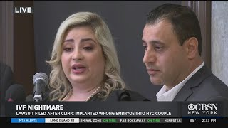 Couple Sues After Alleged IVF Mixup