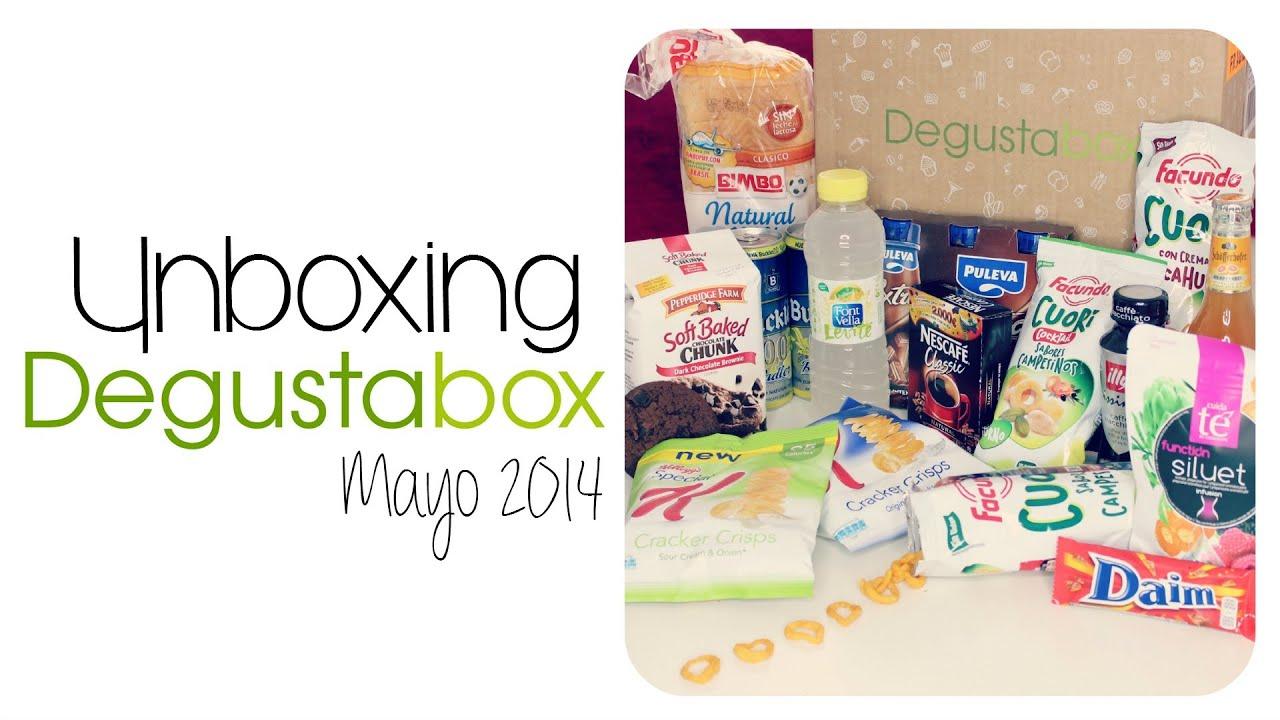 Unboxing DegustaBox Mayo con Samuel