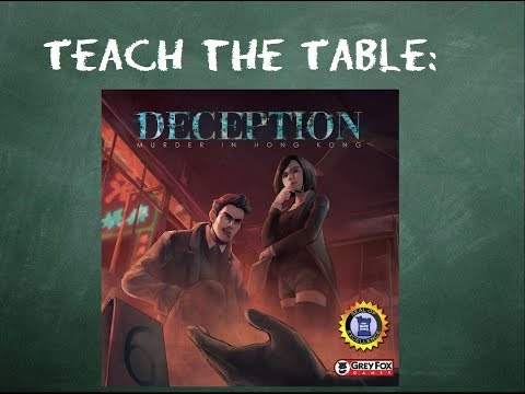 How to play Deception: Murder in Hong Kong - Teach The Table