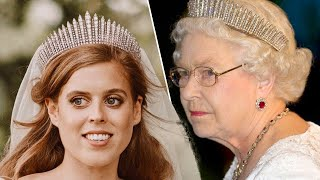 Beatrice's wedding tiara caused the Queen serious stress