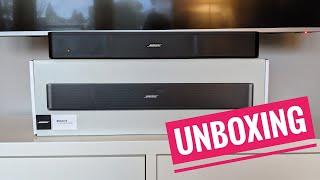 Bose Solo 5 Soundbar Unboxing und Installation (Deutsch)