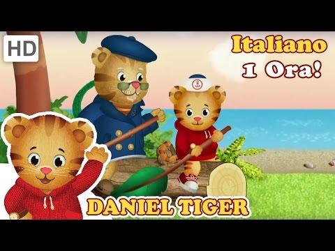 Daniel Tiger in Italiano - Tranquillita ala Fabbrica di Orologi e Buongiorno Daniel (1 Ora!)