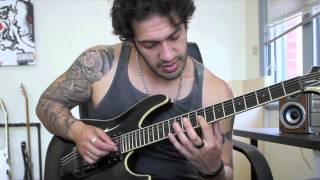 How to play 'Maha Kali'  by Dissection Guitar Solo Lesson