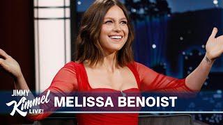 Melissa Benoist on End of Supergirl, Loving Donny Osmond & Gift for Her Baby Boy