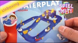Waterplay Niagara - Wasserbahn von BIG Unboxing water toy - spielen mit Wasser Spielzeug
