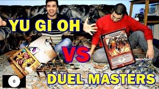 YU GI OH Vs DUEL MASTERS | CHALLENGE
