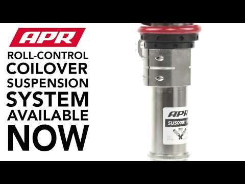 APR Roll-Control Coilover System Now Available for MQB Platform Vehicles!
