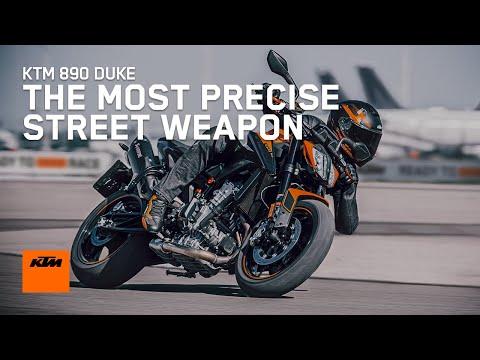 2021 KTM 890 Duke in Goleta, California - Video 1