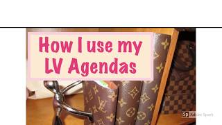 da102eb90556 Louis Vuitton Agenda PM MM and GM and how I use all three