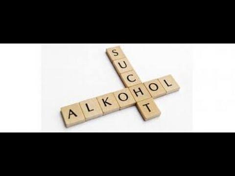 Die Behandlung von den Präparaten des Alkoholismus auf dem Heim