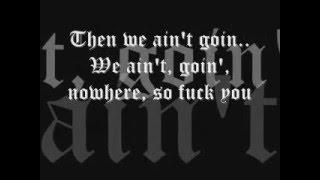 We Ain't (W/ lyrics) - The Game ft. Eminem