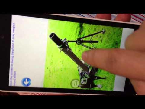 Video of Artillery sounds