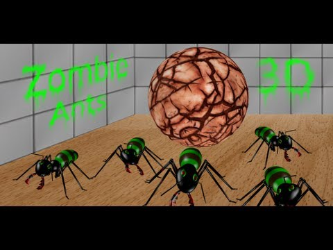 Video of 3D Zombie Ant Smash Ball