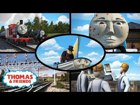 Top 5: Funniest Moments   Thomas & Friends