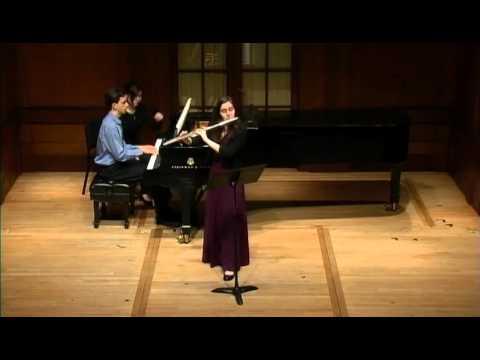 Hindemith Flute Sonata, 3rd mvt.
