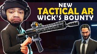 NEW TACTICAL AR - JOHN WICK LTM   NO MATS CLUTCHES - (Fortnite Battle Royale)