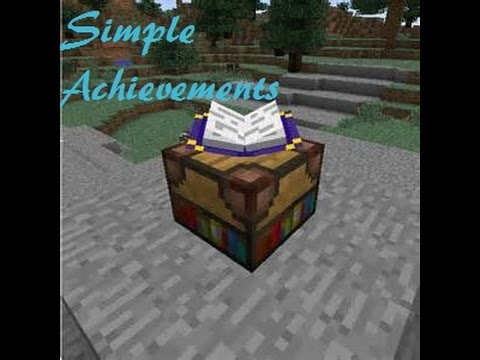 Minecraft | Mod Showcase | Simple Achievements