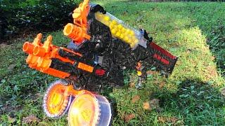 NERF MOD: Eighth Day Juggernaut Rapid Strike & Nemesis Rival Nerf Gun!