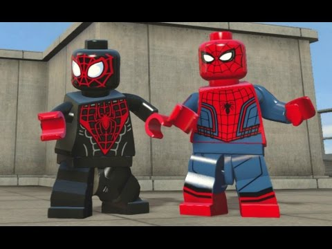 Download LEGO Marvel's Avengers - All Spider-Man Characters (Spider-Man DLC Pack Free Roam) HD Mp4 3GP Video and MP3