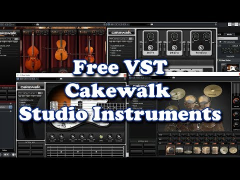 Free VST - Cakewalk Studio Instruments (2019)