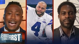 Dak out for season w/ injury — Michael Vick reacts to devastation | NFL | FIRST THINGS FIRST