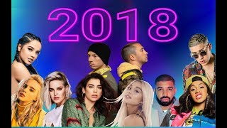 Most Popular Music of 2018 (Year Compilation)