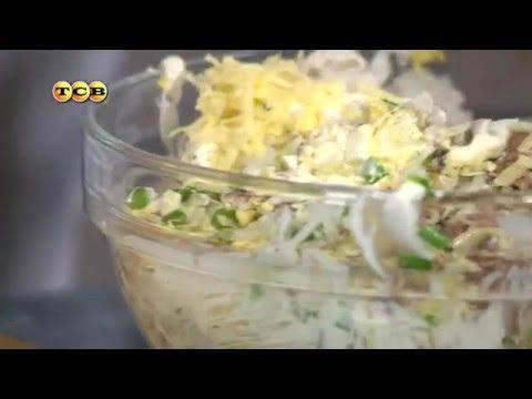 Рыбный салат с сыром - Дело вкуса
