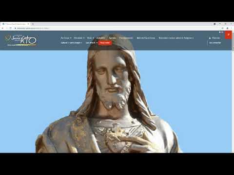 Le site web du sanctuaire de Paray-le-Monial
