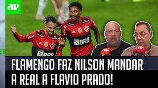 'O Flamengo, mesmo com desfalques…': Nilson Cesar manda a real a Flavio Prado