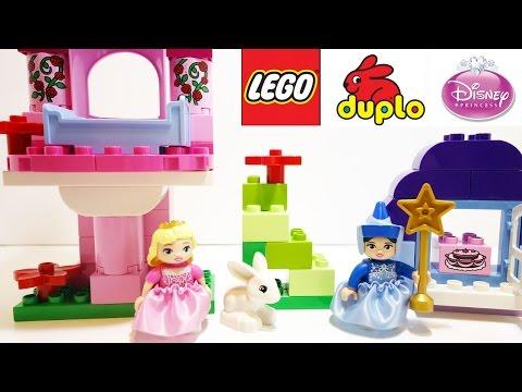 Vidéo LEGO Duplo 10542 : La Belle au bois dormant et sa fée