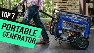 Best Portable Generator of 2020 [Top 7 Picks]