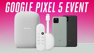 Google Pixel 5 Event in 6 minutes