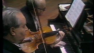 David Oistrakh & Sviatoslav Richter - Beethoven & Brahms Sonatas (live in New York, 1970)