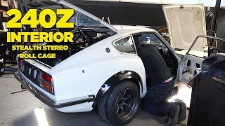RB26 240Z - Roll Cage + Stealthy Hidden Stereo
