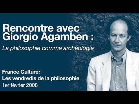 Vidéo de Giorgio Agamben