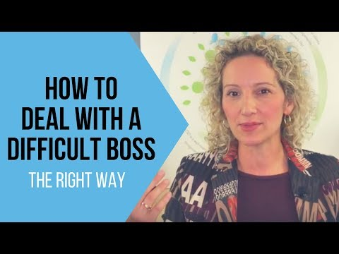 How To Deal With A Difficult Boss - Tips for Handling a Challenging Boss