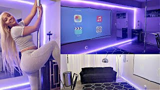 HOW I TURNED MY GARAGE INTO A 'WOMAN CAVE' !